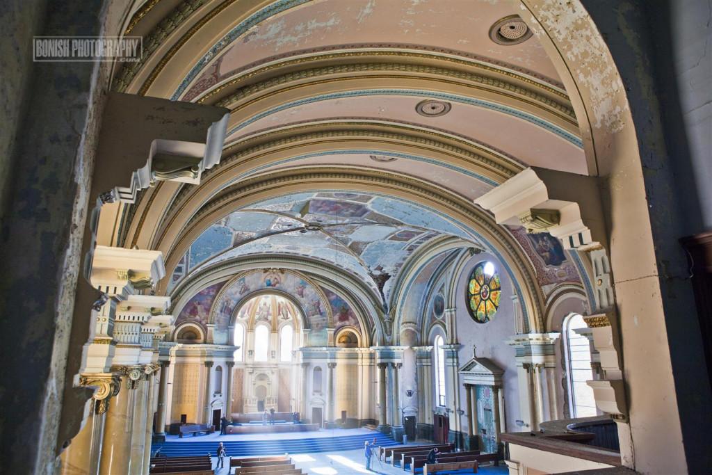 URBEX, Abandoned, Detroit, Bonish Photo, Every Miles A Memory, St Stanislawa Church
