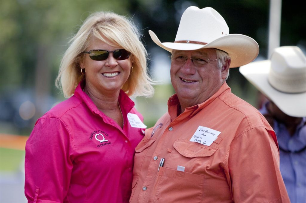 Don Quincy, Donna Sharp, Quincy Cattle Company, Bonish Photo