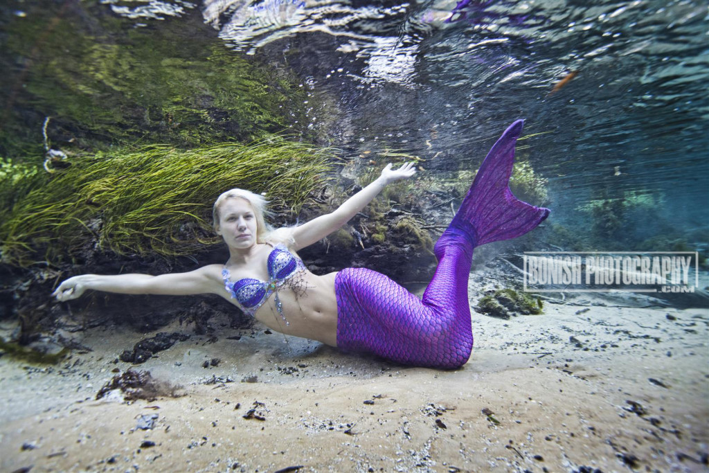 Mermaid, Bonish Photo, Underwater Photography