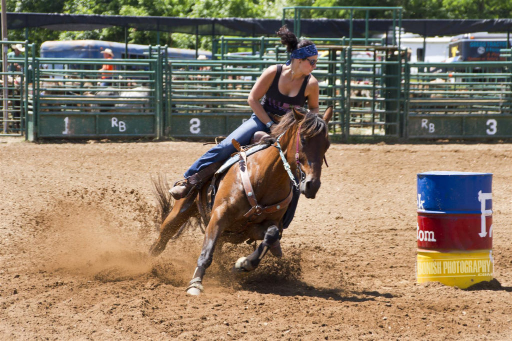 Barrel Racing, Bonish Photo, Rock Bottom, Arkansas