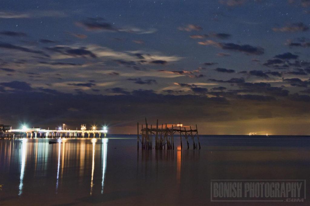 Moon Rise, Cedar Key, Bonish Photography