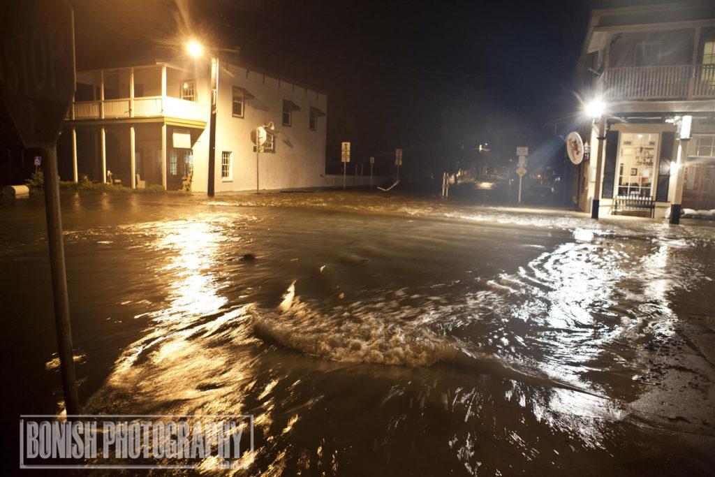Hurricane hermine, Flooded, Cedar Key, Bonish Photo