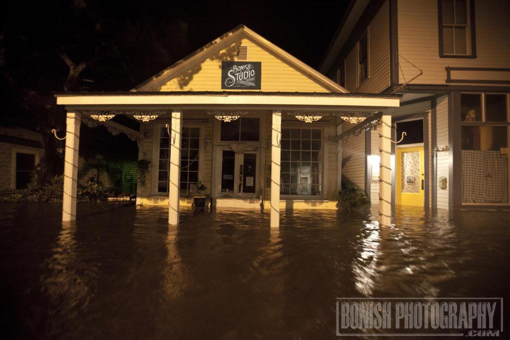Bonish Studio, Cedar Key, Hurricane hermain