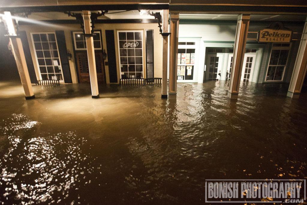 Tony's Clam Chowder, Hurricane Hermain, Bonish Photo, Flooding