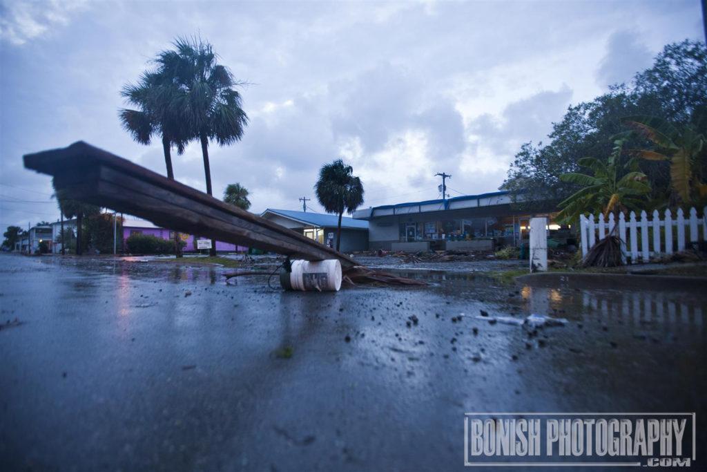 Cedar Key, hurricane Hermain, Bonish Photo