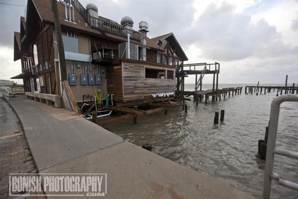 Hurricane Hermain, Cedar Key, Bonish Photo, 83 West