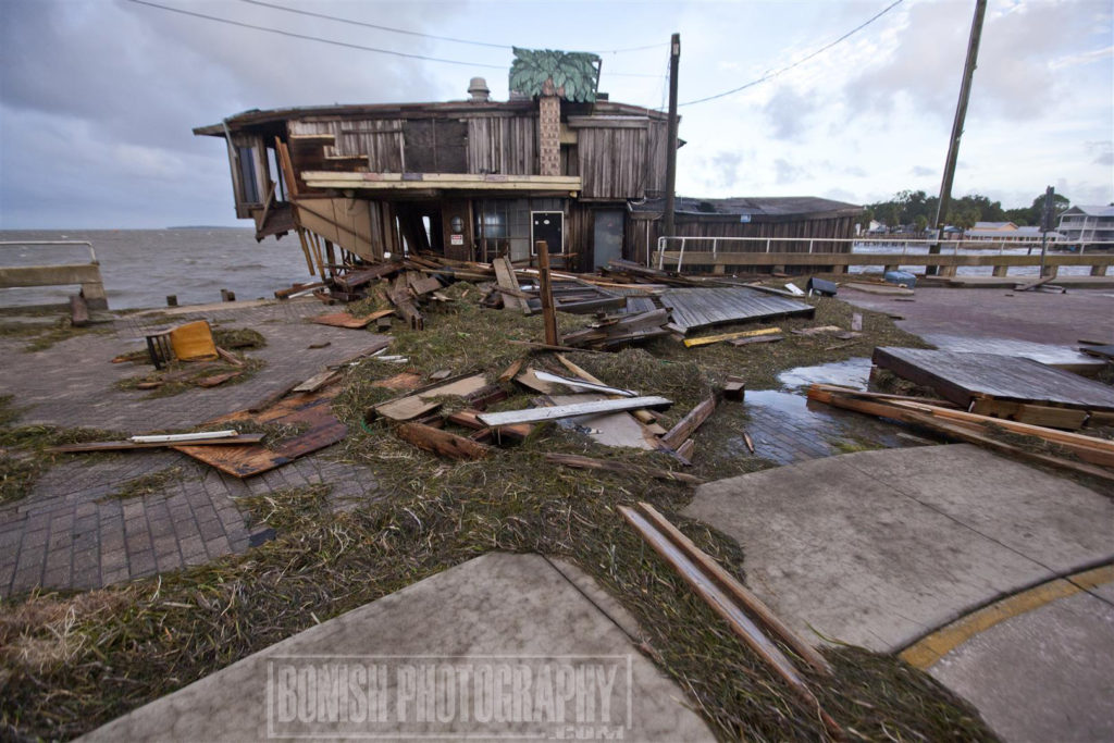 Hurricane Hermain, Cedar Key, Bonish Photo