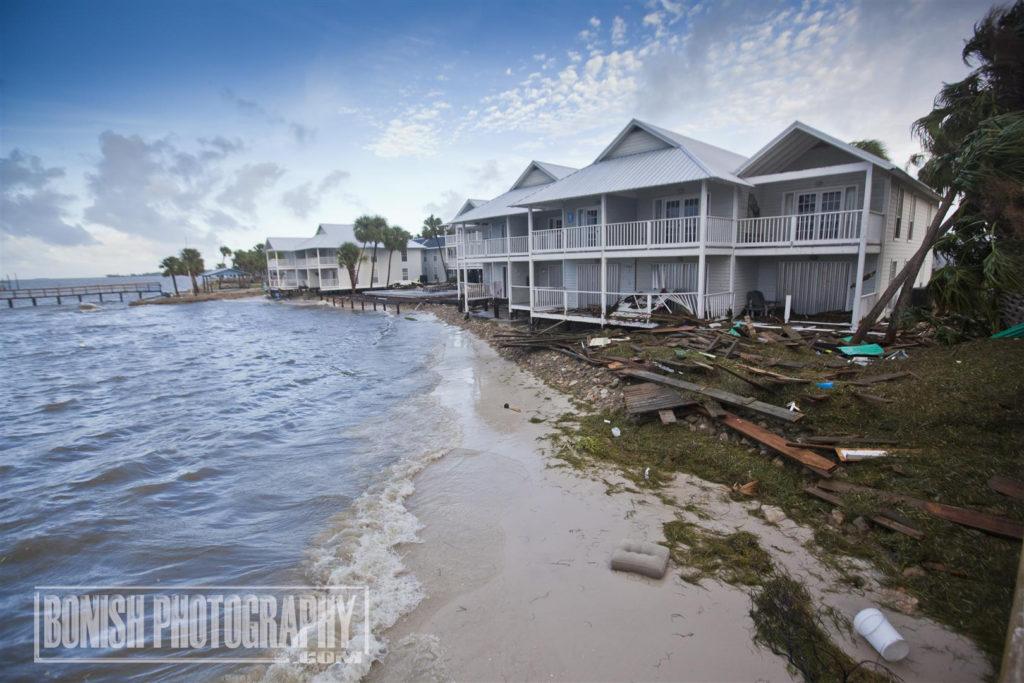 Hurricane Hermain, Cedar Key, Bonish Photo, Island Place