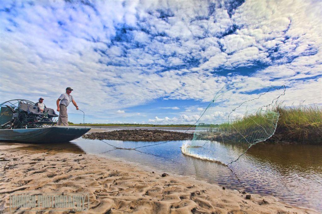Cedar Key, Airboating, Bonish Photo, Castnetting