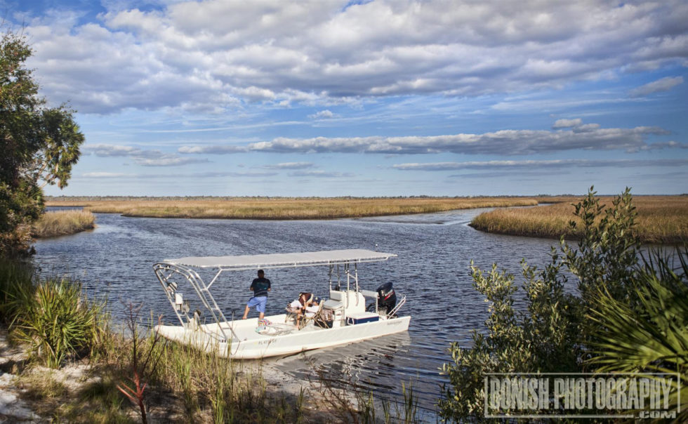 Hog Island, Bonish Photo, Boating, Cedar Key