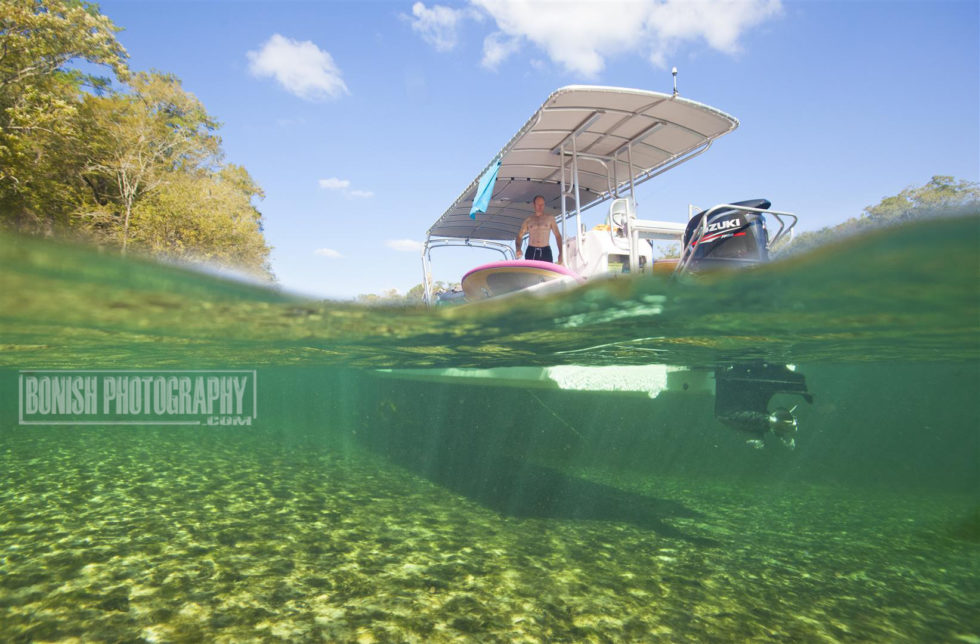 Underwater Photography, Bonish Photo, Florida Boating, Suwannee River