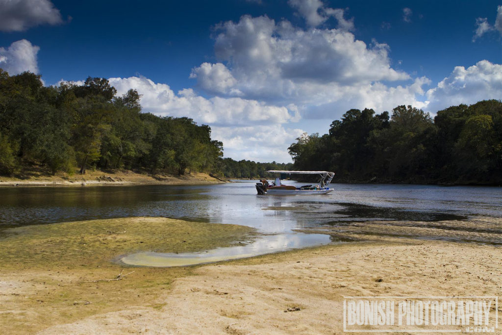 Suwannee River, Florida Boating, Bonish Photo