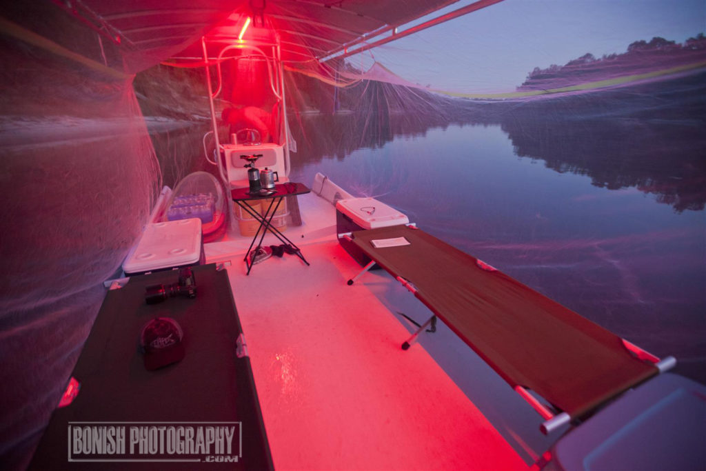 Boat Camping, Boating, Bonish Photo