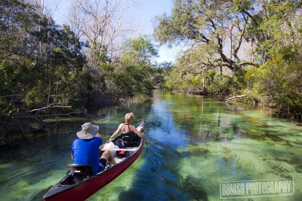 Weeki Wachee River, Bonish Photo, Every Miles A Memory, Canoeing