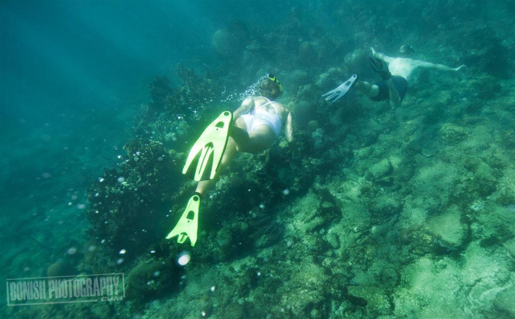 Heath Davis, Snorkeling, Jolie Davis, Bonish Photo, Every Miles A Memory,