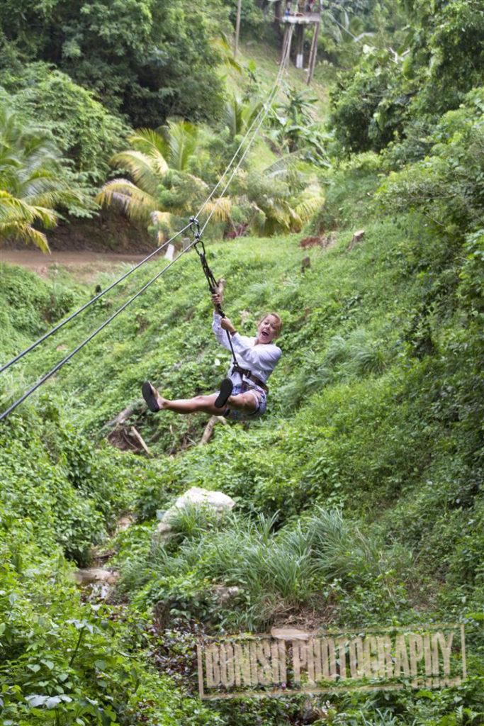 Ziplining, Jolie Davis, Bonish Photo, Every Miles A Memory