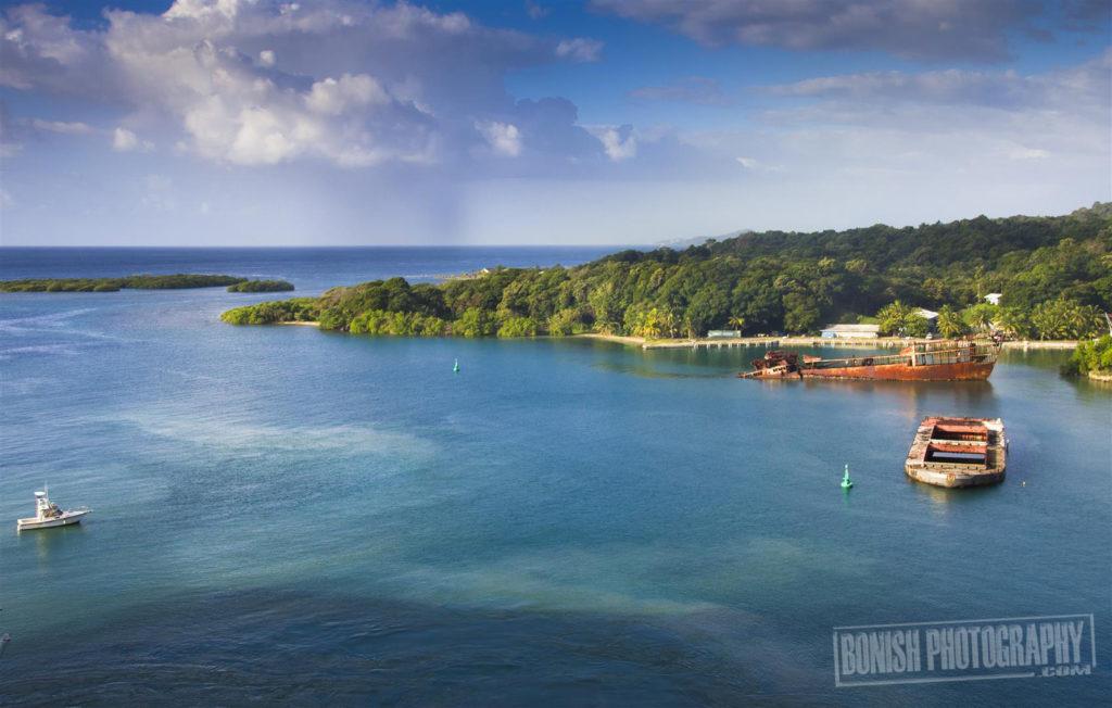 Mahogany Bay, Roatan, Honduras, Bonish Photo, Every Miles A Memory