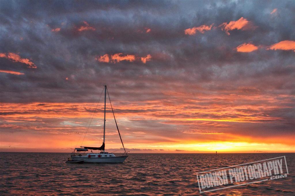 Sunrise, Cedar Key, Sailing, Bonish Photo, Every Miles A Memory