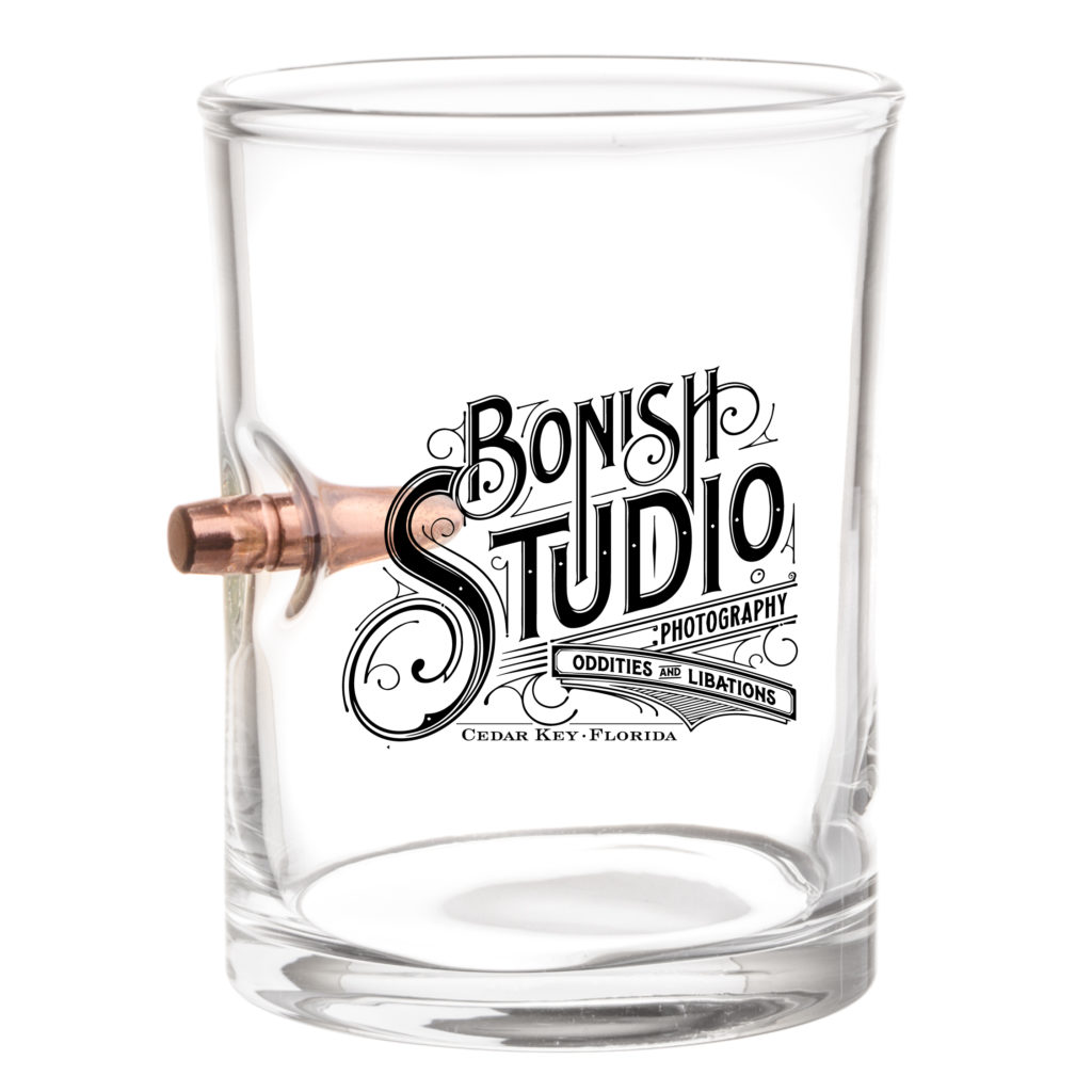 Bonish Studio, Whiskey Glass, Bullet Glass