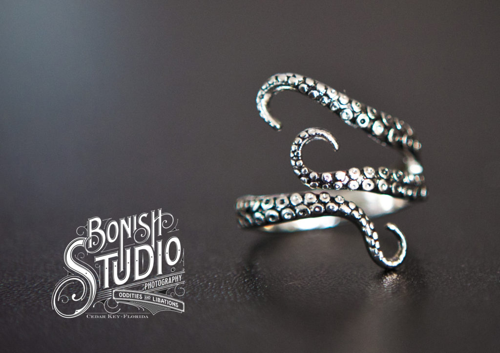 Octopus Ring, Bonish Studio, Cedar Key, BOnish Photo