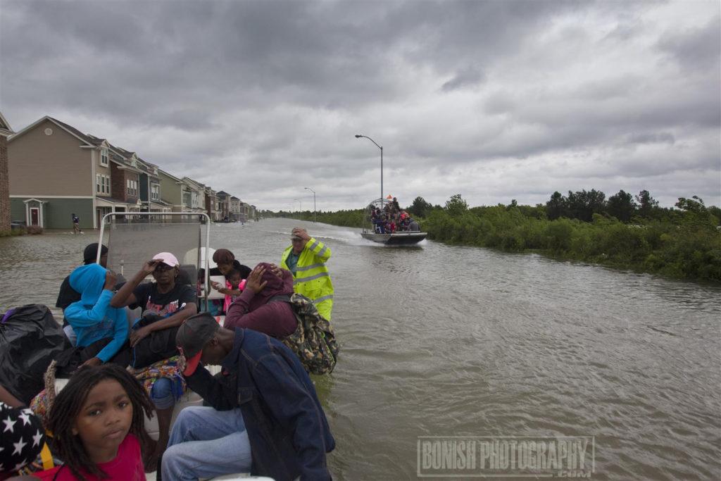 Texas, Hurricane Harvey, Bonish Photo, Rescue