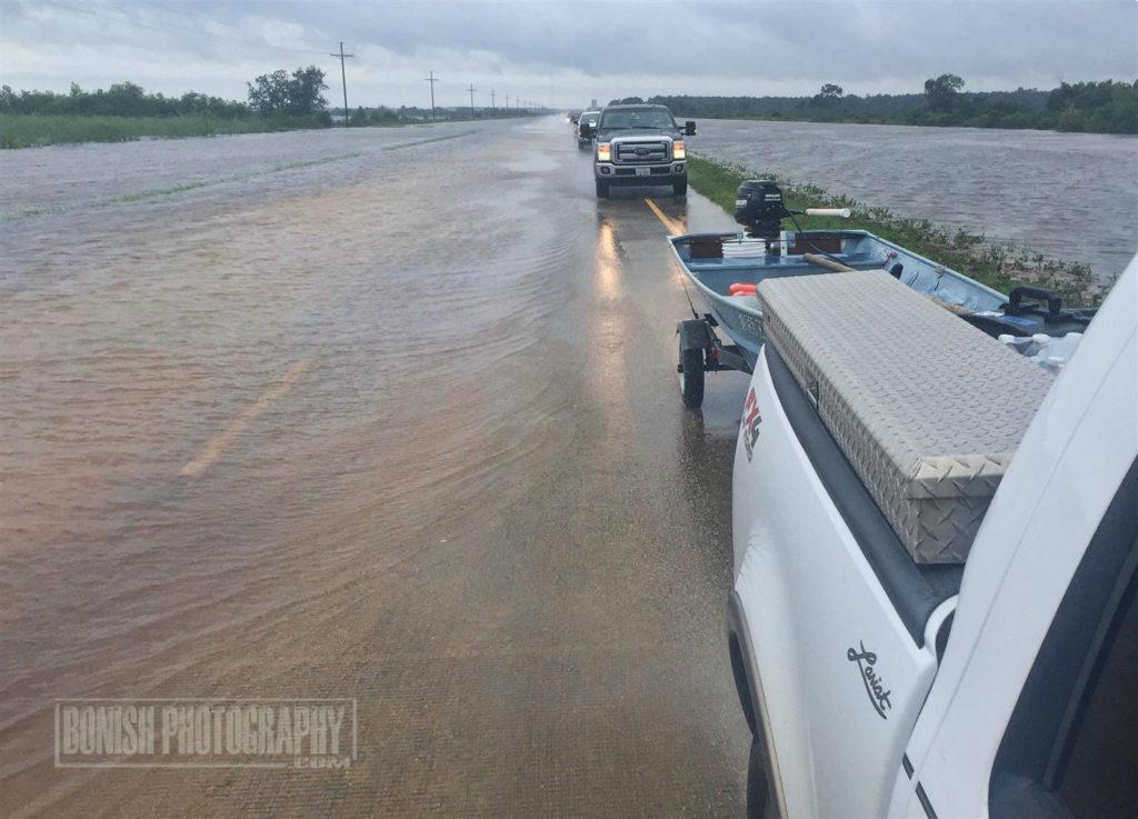 Texas, HWY 90, Hurricane Harvey, Bonish Photo, Flooded