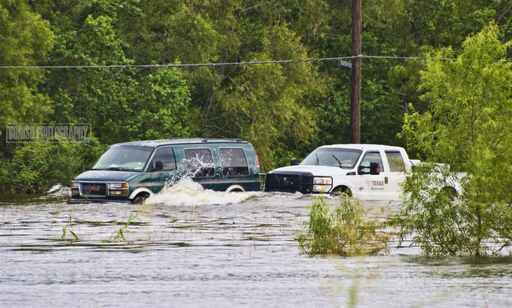 Flooded, Texas, Hurricane Harvey, Bonish Photo