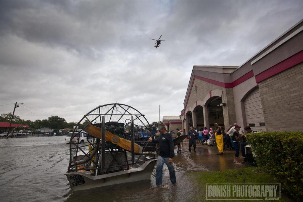 Port Arthur Fire Department, Bonish Photo, Hurricane Harvey, Texas