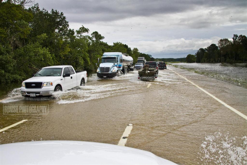 HWY 90, Texas, Hurricane Harvey, Bonish Photo