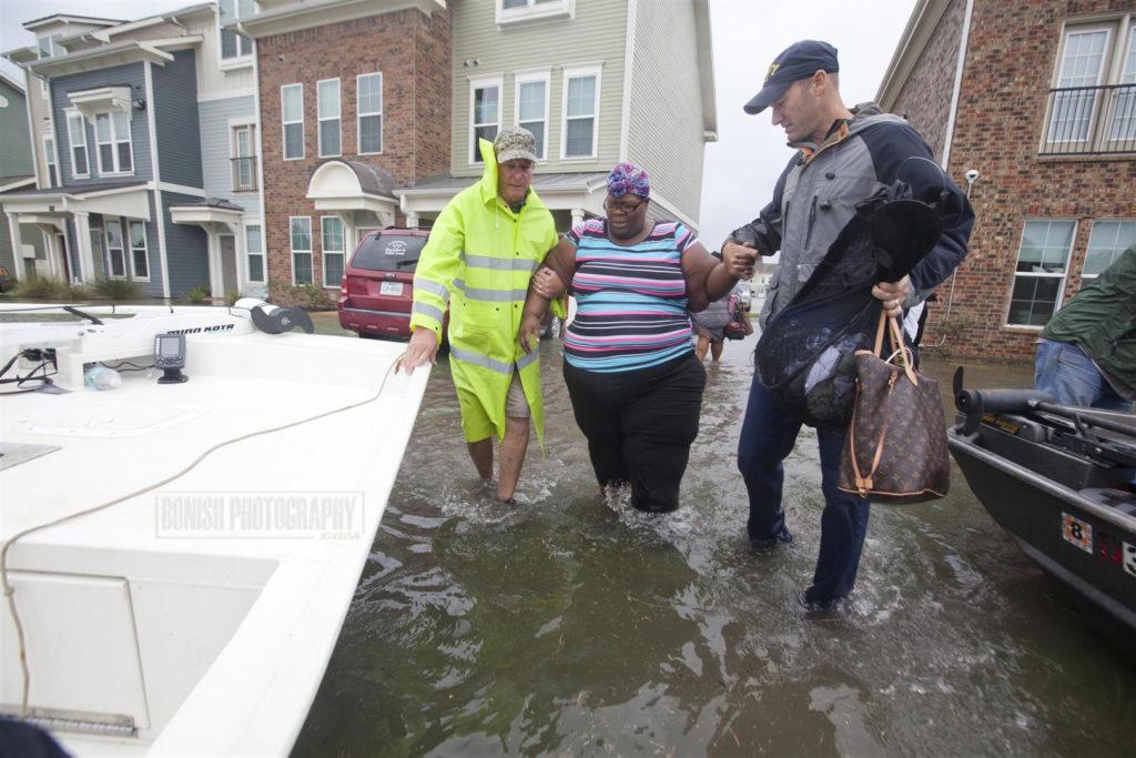 Texas, Port Arthur, Hurricane Harvey, Bonish Photo