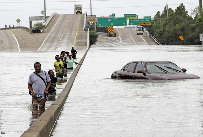 Hurricane Harvey, Flooding, Texas, Houston, David J. Phillip