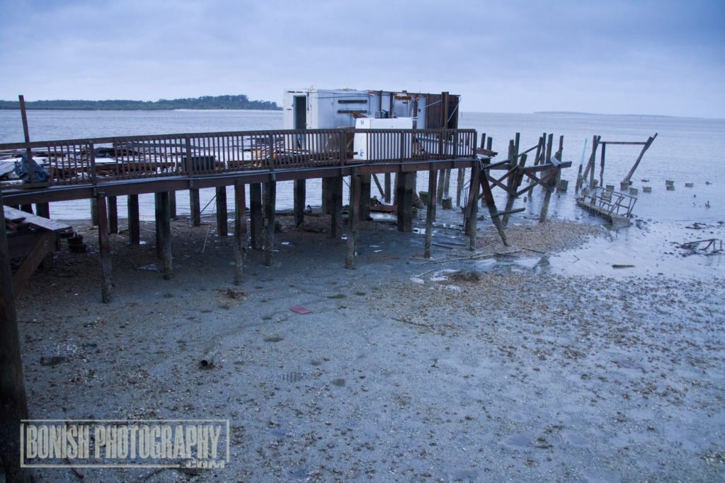 Cedar Key, Low Tide, Hurricane Irma, Bonish Photo