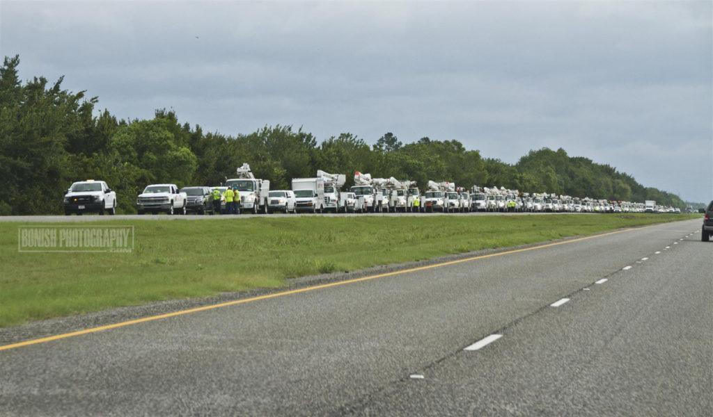Texas, Hurricane Harvey, Bonish Photo, Line Workers