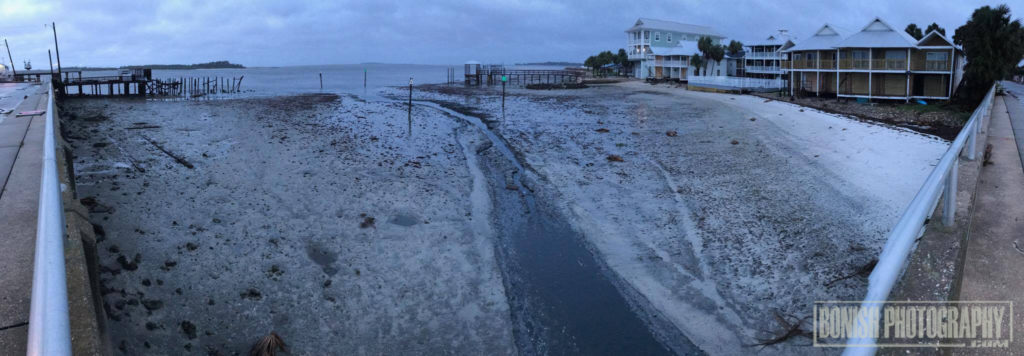 Hurricane Irma, Cedar Key, Bonish Photo, Low Tide